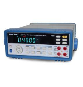 Multimetr stołowy True RMS USB PeakTech 4000 data